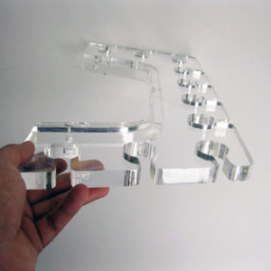 Acrylic Drink Racks