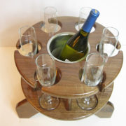 Six Glass Wine Table