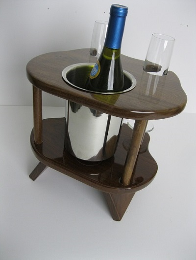 Two Glass Champagne Table
