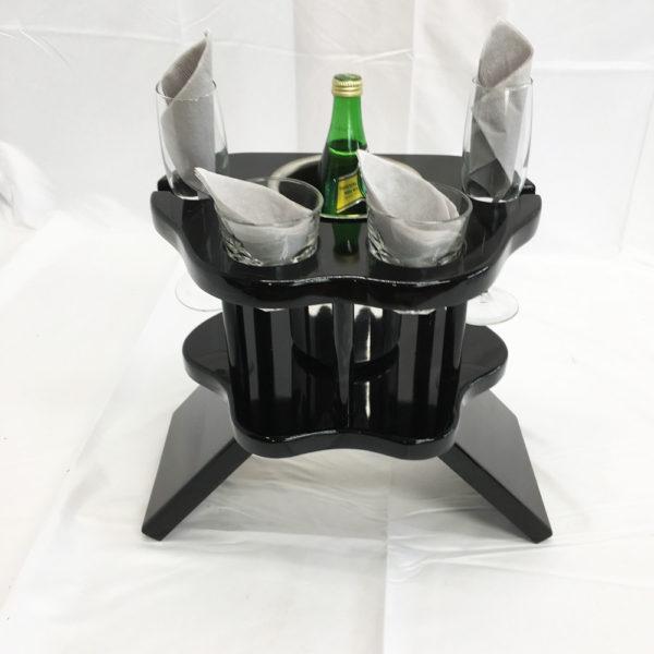 wine table for limousines sedans