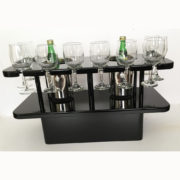 black-wine-table-with-ice-buckets